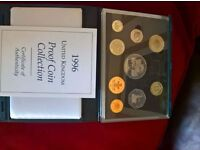 1996 royal mint coin set