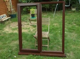 ANGLIAN FORTRESS upvc WINDOW- Rosewood.