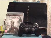 Ps3 plus game and controller
