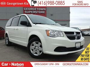 2012 Dodge Grand Caravan SXT | STOW AND GO | CAPTAIN SEATS| DUAL