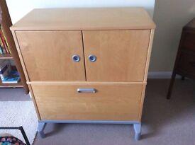 IKEA Effektiv Office Cupboard & Filing Drawer Cabinet