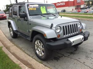 2013 Jeep WRANGLER UNLIMITED SAHARA UNLIMITED / GO JEEPIN ALL YE