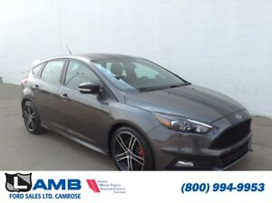 """2015 Ford Focus ST Hatch with Navigation, 18"""" Wheels and Black S"""
