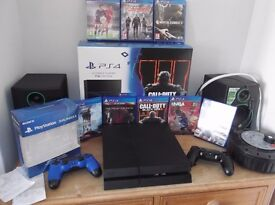 Playstation 4 Console 1TB call of duty package (Mint) Hardley used! Total of 8 games. £280