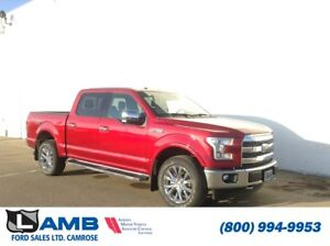 2017 Ford F-150 Lariat 4x4 with Moonroof, Sync Connect and Laria