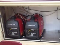 2 Honda i20 generators