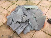 slate for garden ornamental stone