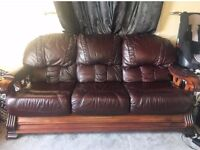 Two Top Quality Leather Sofas for Sale!