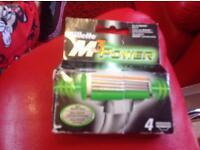 Mach 3 power refill blades