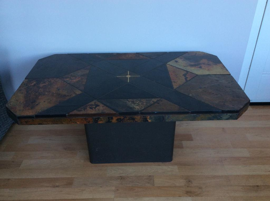 South African Slate Coffee Table