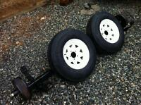 3500# Boat Trailer Axle and Tires