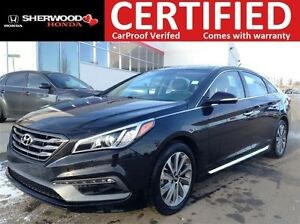 2016 Hyundai Sonata Sport Tech | PANORAMIC | HEATED LEATHER | BL