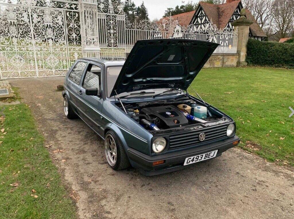 Volkswagen Mk2 Golf 1 9 TDI PD130 ASZ NOT 1 8T 20v MK1 MK3 conversion nova  Cupra turbo show car dub | in Beeston, West Yorkshire | Gumtree