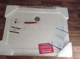 Brand new shower tray