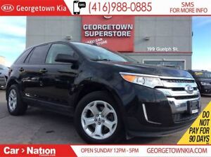2013 Ford Edge SEL | LEATHER | PANO ROOF | BACK UP CAM| HTD SEAT