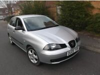 2005/05 Seat Ibiza 1.9 TDI S Low Millage Mot AC CD Alloys 5 Speed