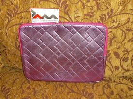 Brand new with tab, JAM laptop/notebook sleeve, metallic pink