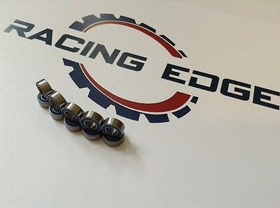 Racing Edge Tamiya Wheel Bearings 5x12x4 10 Pack Also XrayHPIHSPTraxxasAxe