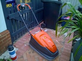 Flymo Hover Mower 330 Turbo Compact with built in collection box