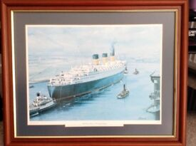 RMS Queen Mary Limited Edition Framed Print