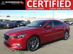 2016 Mazda Mazda6 GT| NAVI|BLINDSPOT|HOMELINK|HEATED LEATHER
