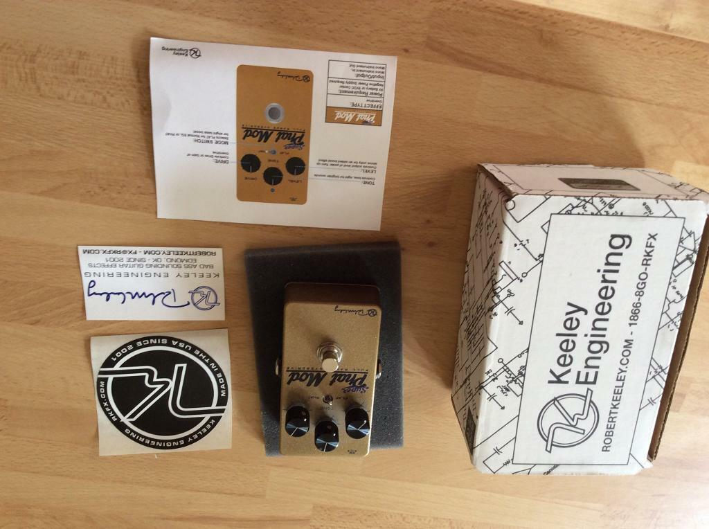 Keeley Super Phat Mod Overdrive Pedal | in Steyning, West Sussex | Gumtree