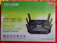 New - Sealed in box - TP-Link AC3200 Wireless Wi-Fi Tri-Band Gigabit Router