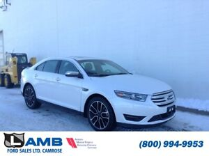 2018 Ford Taurus Limited AWD with Intelligent Access, Power Moon