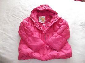 3 Girls pink coats