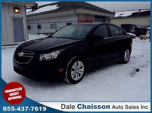 2012 Chevrolet Cruze LT Turbo (*3.9%* $85 Bi-Weekly $0 Down Tax