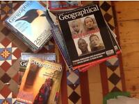 Geographical magazines 2001 to 2007