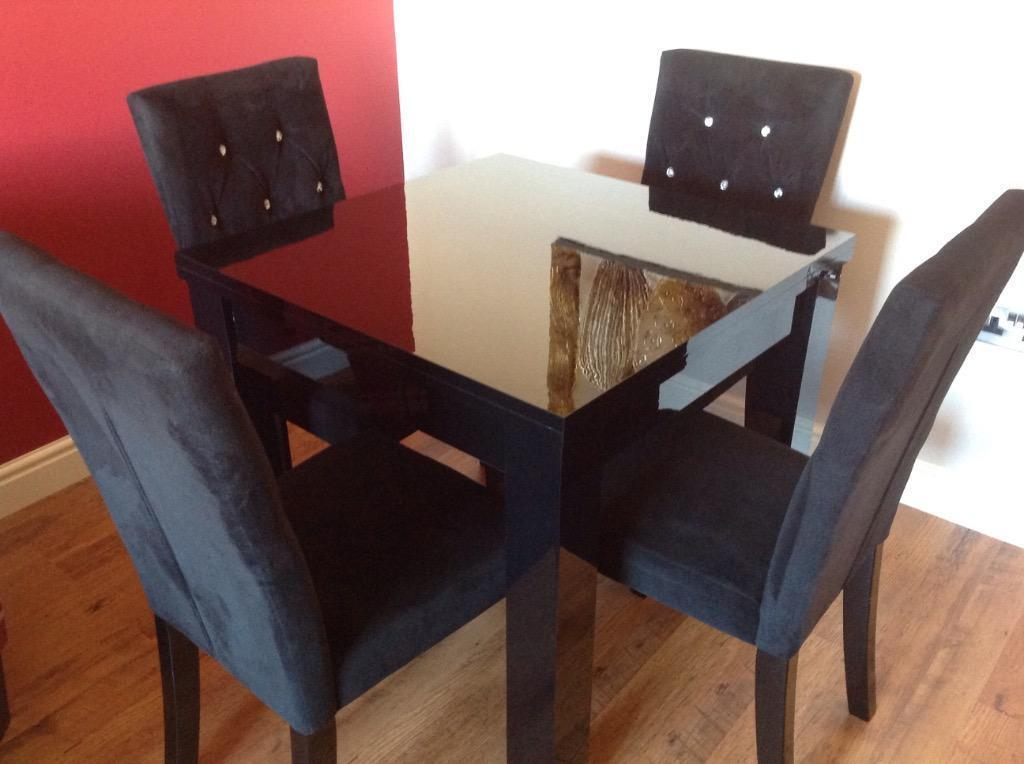 Next black gloss dining table Buy sale and trade ads : 86 from dealry.co.uk size 1024 x 764 jpeg 65kB