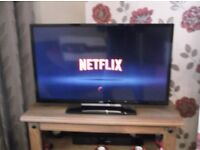 """FOR SALE 32 """" JVC LED SMART TV TELEVISON NOT CAR VAN DVD BIKE"""