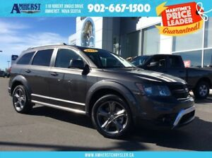 2017 Dodge Journey CROSSROAD - LEATHER SEATS, SUNROOF