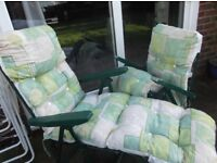 2 matching sun loungers £30 - still have tags - new - have been stored - can sell separately