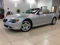 2006 BMW 6 Series 650Ci DECAPOTABLE