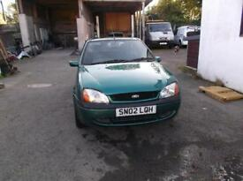 FORD FIESTA 1.25 Freestyle 3dr (green) 2002