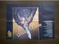 clash of the titans ( 1981 ) ' ray harryhauen ' original movie poster