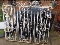 Wrought Iron Double Drive Gates