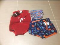 Baby boys swimming bundle
