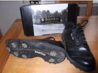 Golf Shoes - Footjoy - Good Condition - Boxed size 10