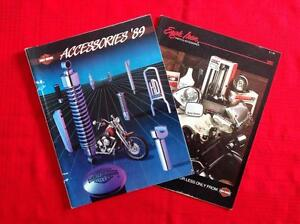 1989 Harley Davidson catalogues West Island Greater Montréal image 2