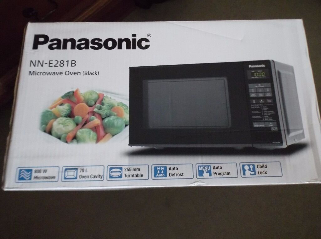 Panasonic Microwave Oven Model Nn E281b Black