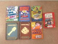 Kids books minecraft tom gates Philip ardah