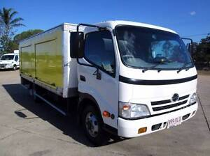 Hino 716 - 300 Series Hino Battery Truck Service Body Glanmire Gympie Area Preview