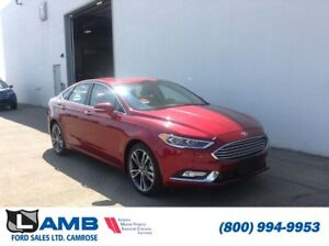 2017 Ford Fusion Titanium AWD with Moonroof, Navigation and Inte