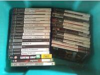 playstation 2 games and xbox 360