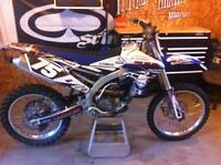YAMAHA YZ250F 2014 MINT CONDITION