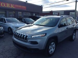 2016 Jeep Cherokee Sport 4X4-SIEGES & VOLANT CHAUF.-GRELECTR