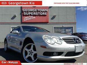 2003 Mercedes-Benz SL-Class | NAVI | HARDTOP | CONVERTABLE | 98,